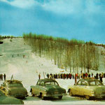 Caberfae also hosted ski jumping competitions. Two jumps on North Ridge brought thrills to skiers and spectators.