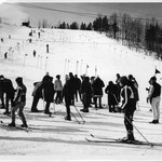 In the 1950s, Caberfae was a ski racing center. Ski racers came from all over the Midwest.