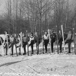 The first Ski Patrol at Caberfae.