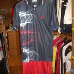 Tacchini Polo&S-Pants Set NV/RD ¥13300(税込、上下セット価格)