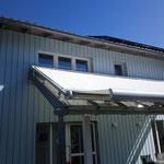 Markisen-Halter zur Befestigung auf WIntergarten - Spezial-Lösung