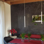 Wand neu gestaltet mit Stucco Veneziano Technik