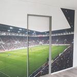Foto-Tapete für einen Sportraum