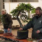 Falko Hamann und Werner Busch´s Präsentationen überschnitten sich zeitlich
