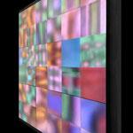 """Pixel Stream"" 高森幸雄 2015 Angled view"
