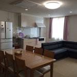 女性棟共用スペース兼食堂