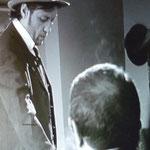 """Fran Fernández-Asensio actor, rodaje """"la botella de mal"""""""