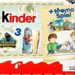 2009 - Memo Spiel -  Rückseite / bei beiden Verpackungen gleich