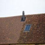 Sortie de toit souche inox noir mat (photo)
