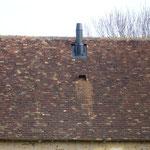 Souche de cheminée en inox double paroie noir mat (photo)