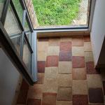 Pavés de terre cuite de St Samson photos (image)