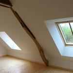 Aménagement de combles, isolation, chassis de toit (image)