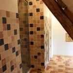 Installation sanitaire, électricité, plomberie, salle de bain, faïence (image)