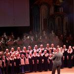 Концерт в Екатеринбургском театре оперы и балета в мае 2005 года с Духовым оркестром Штаба Уральского округа.