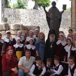 Паломничество в Турцию с Владыкой Викентием в мае 2009 года.