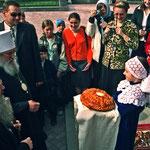 Встреча с Митрополитом Православной Церкви за рубежом Лавром в мае 2004 года.