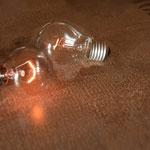 Zwei Glühlampen