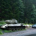 T 34 im Größenvergleich
