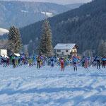 Start zu Toblach - Cortina 50 Km Klassisch