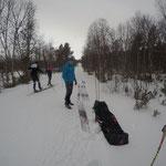 Skitest für den Arefjällsloppet