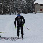 Skitest für Reistadlopet