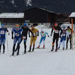 Spitzengruppe des Achensee 3 Täler Lauf