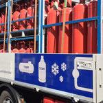 LKW Nutzfahrzeuge Beklebung Fuhrpark Beschriftung
