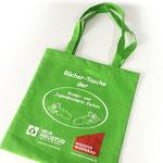 Vliestaschen (NonWoven), mit Siebdruckbeschriftung