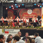 Würzburger Hofbräu, Bühnenbanner