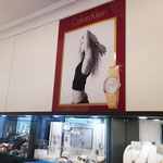 Folienbeklebung Ladengeschäft, Einzelhandel, Juwelier, Werbetechnik