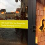 Fensterbeklebung, Glasbeschriftung, Objektbeschriftung, Schaufensterbeklebung, Folienbeklebung
