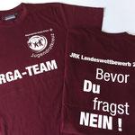 HAKRO T-Shirt Classic #292 - Siebdruck - BRK/JRK Würzburg