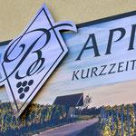 Aluverbundschild mit konturgefrästem Logo, Werbetechnik, Schild, Beschilderung