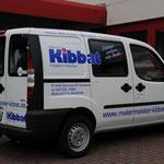 Fahrzeugbeklebung, Fahrzeugbeschriftung, Folienbeklebung, Folienbeschriftung, Fa. Kibbat, Werneck Nutzfahrzeuge