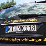 Fahrzeugbeklebung, Fahrzeugbeschriftung, Folienbeklebung, Folienbeschriftung, mit Text und Bild