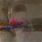 Wo ist die Liebe hin - Acryl Mischtechnik 60 x 60 cm, 2013