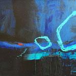 relationships II - Acryl Mischtechnik auf Malpappe 50 x 40 cm, 2015