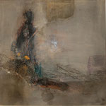 Fata Morgana - Acryl Mischtechnik 50 x 50 cm, 2013