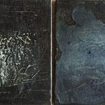 Gesteinsmehle je 20 x 20 cm,2013
