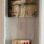 Acryl Mischtechnik auf Malpappe je 10 x 15 cm, 2015