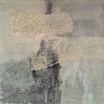 Wasserlilie - Gesteinsmehle 50 x 50 cm, 2013