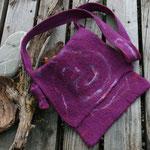 Tasche aus Filz 27 x 28 cm