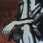 """"""" Ancora"""", 2013  acquaforte e acquatinta 50x50cm"""