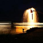 STEELRAIN am Donauufer