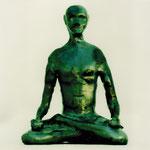 Meditation, Massivstahlplastik, 1Kg, Modell, verkäuflich