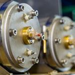Der Hochleistungs-Rohrheizkörper aus Edelstahl hat eine thermische Sicherung zum Schutz vor Überhitzung