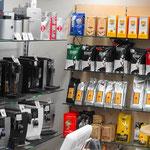 Kaffeesortiment von Gourmet Kaffeeröstereien Schweiz und Italien