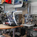 Nuova Simonelli Musica LUX Semiprofessionelle Espressomaschine, legen Sie mal selber Hand an!