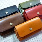 携帯ケース(ヨコ)お千代保稲荷手作り革工房Waioli1304