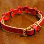 パターンオーダー首輪(赤)お千代保稲荷ほていやさんWaioli14085